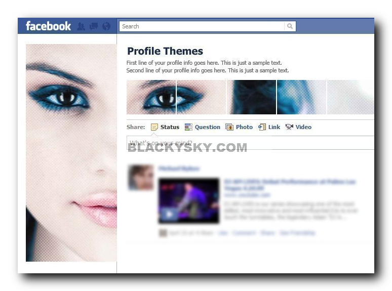 How to Add a Background on Facebook (with Pictures) - wikiHow
